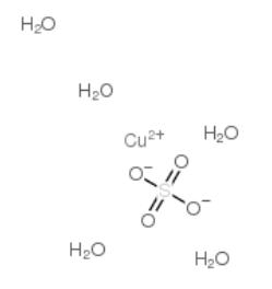 硫酸铜,五水